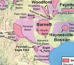 Texas Shale Plays